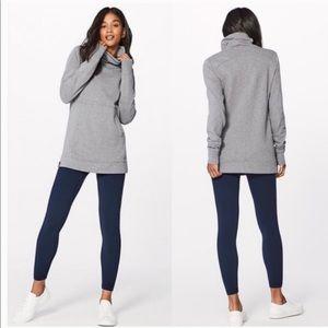 LULULEMON Press Pause Pullover Sweatshirt Gray 6